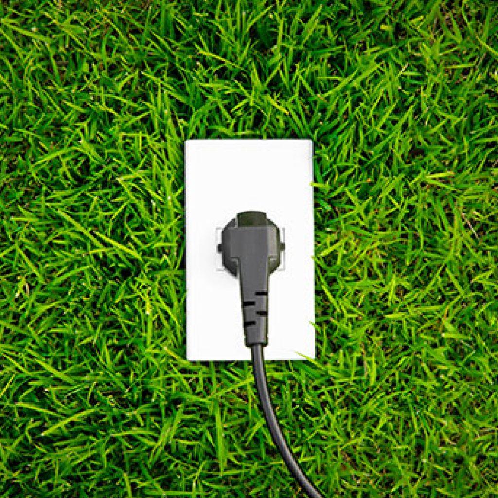 energy-concept-outlet-fresh-spring-green-grass